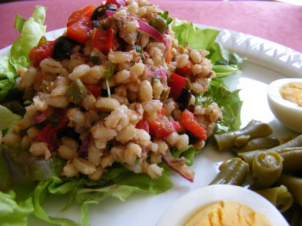 Brown Rice Salade Nicoise