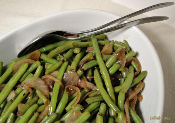 Green Beans With Raspberry Vinegar