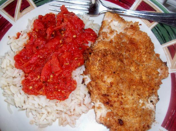 Crispy Chicken Cutlets