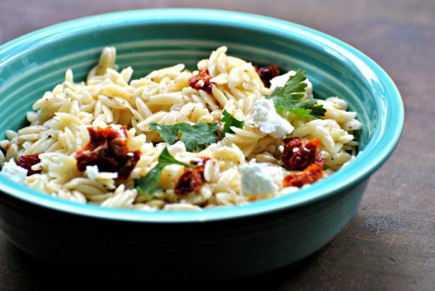Orzo, Feta & Pepper Salad