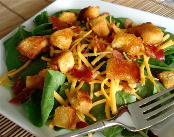 My Favorite Spinach Salad