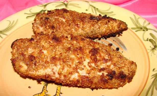 Walnut-Crusted Chicken Breasts