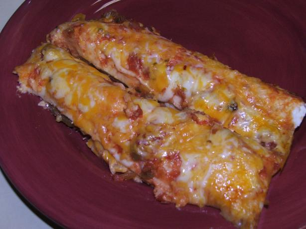 Always Delicious Chicken & Cheese Enchiladas