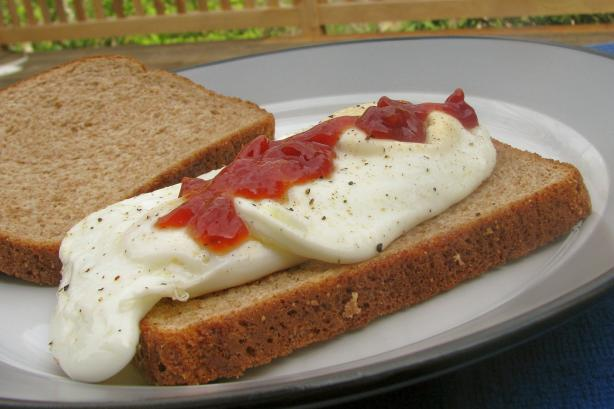 Grannydragon's Fried Egg Sandwich