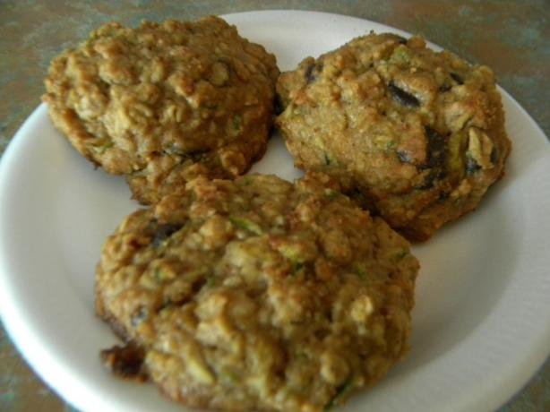 Dark Chocolate Chip, Oatmeal, Zucchini Cookie