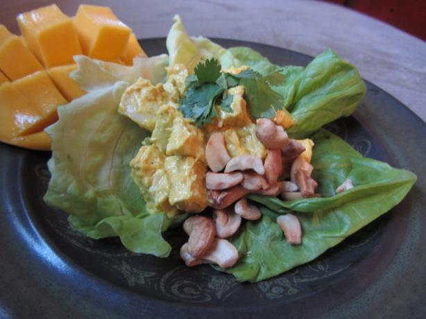 Cilantro-Curry Chicken Salad