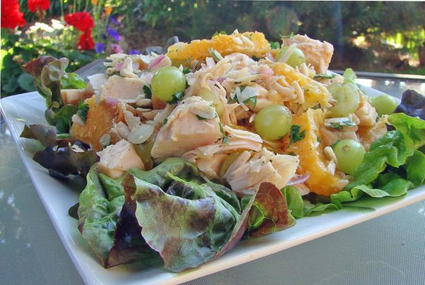 Cold Fruited Chicken Salad