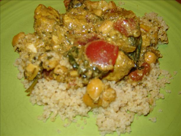 Chicken Cashew Curry