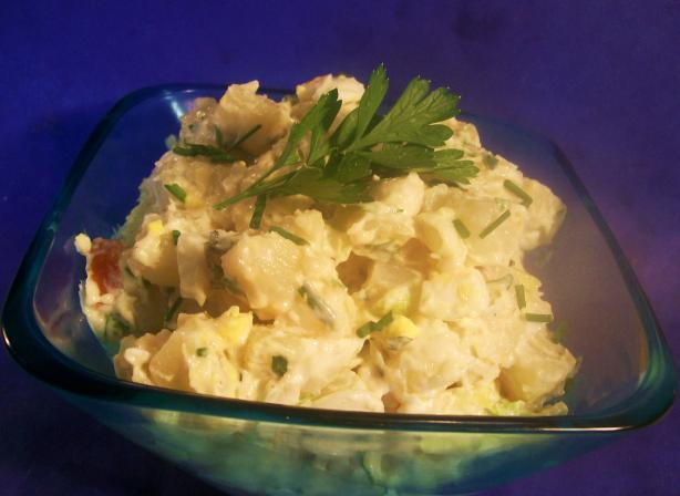 Potato Egg Salad With Herbs