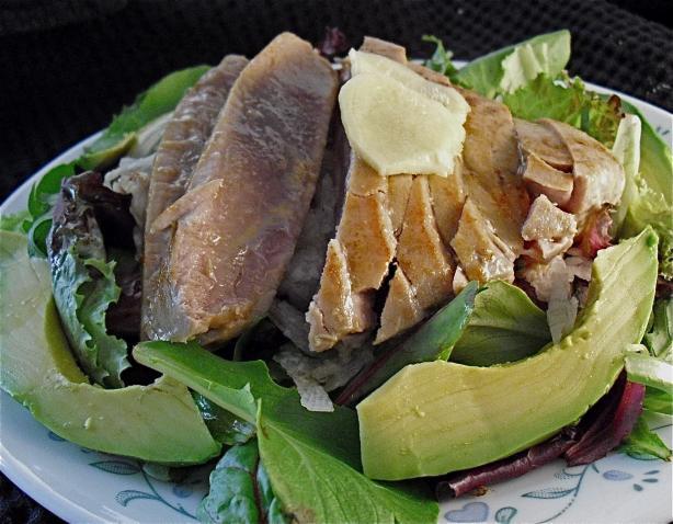 Wasabi Seared Tuna Salad