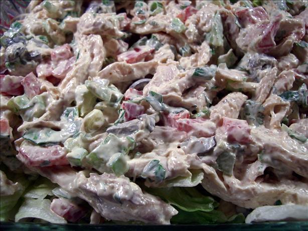 Chicken Salad Santa Fe
