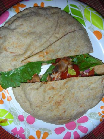 Pizza Salad Pita Pockets
