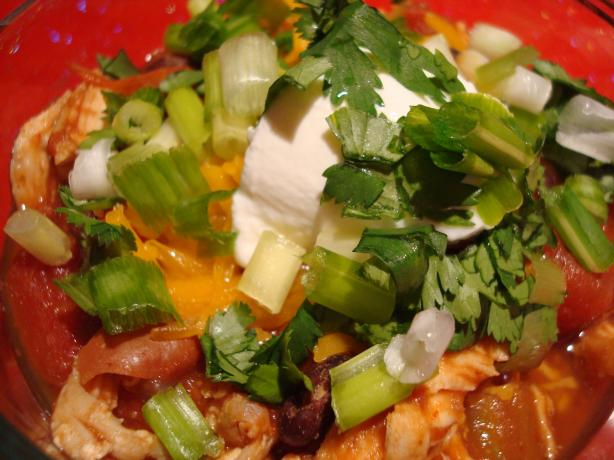 Chipotle Chicken Chili - Spicy