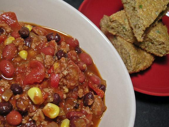 Weight Watchers Two-Bean Chili