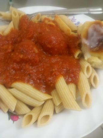 Mama Maroni's Meatballs and Sauce