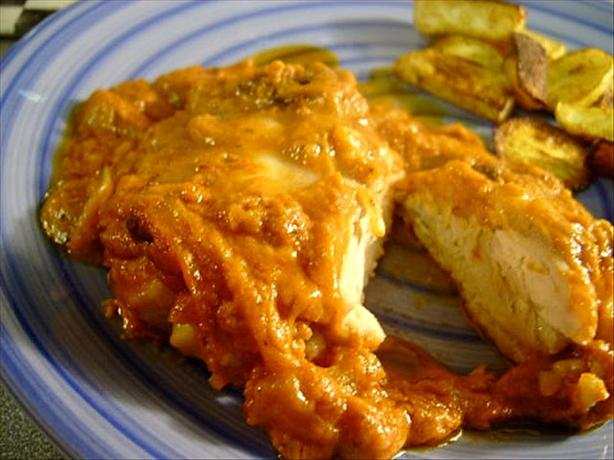 Peanut Butter Chicken with Chile