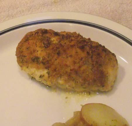 Savory Oven Baked Chicken