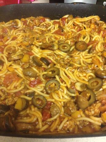 Savory Spaghetti