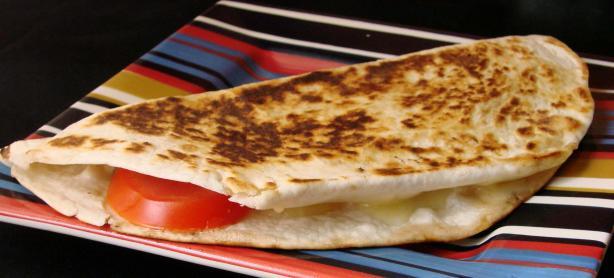 Tomato and Cheese Quesadilla