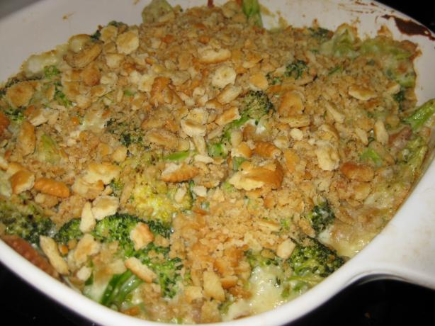 Delicious Blue Cheese Broccoli Casserole