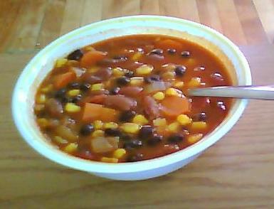 Vegetarian Spicy Chili
