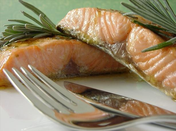 Grilled or Baked Salmon With Lavender