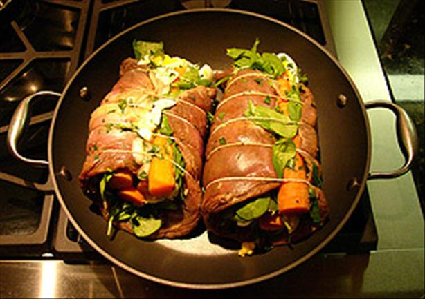Matambre - Argentine Rolled, Stuffed Flank Steak