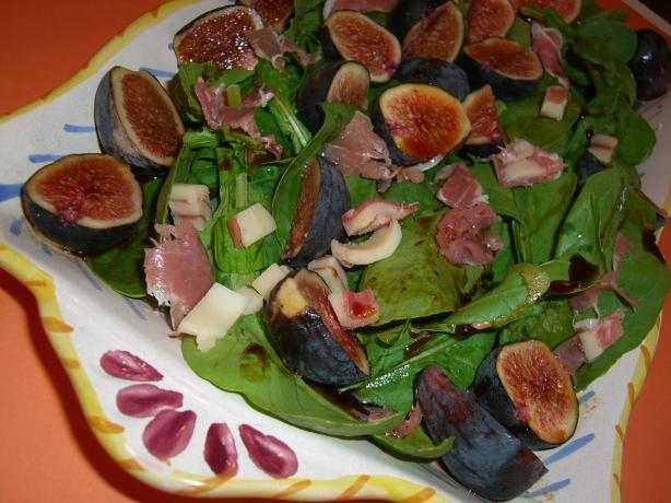 Fig, Prosciutto and Arugula Salad