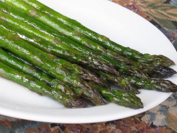 Brown Sugar Asparagus