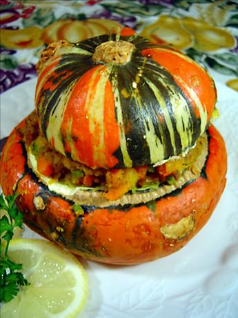 Stuffed Turban Squash