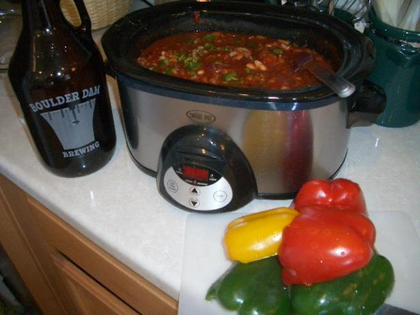 Boulder Dam Slow Cooker Chili