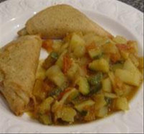 Potato & Zucchini Curry