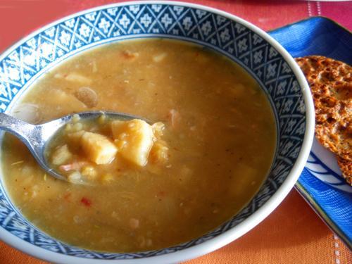 Split Pea and Parsnip Soup - Crock-Pot