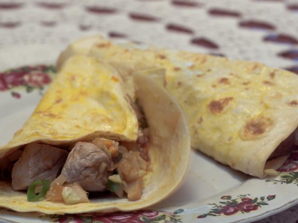 Moo Shu Pork With Mock Mandarin Pancakes