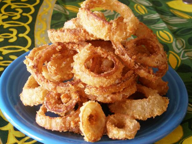 Kittencal's Best Crispy Onion Rings