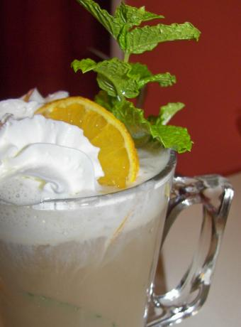 Orange-Mint Coffee