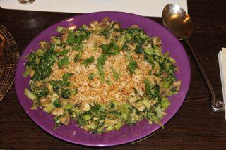 Vegan Fried Rice With Bok Choy