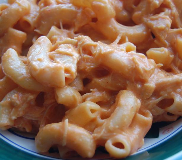 Buffalo Chicken Mac-N-Cheese