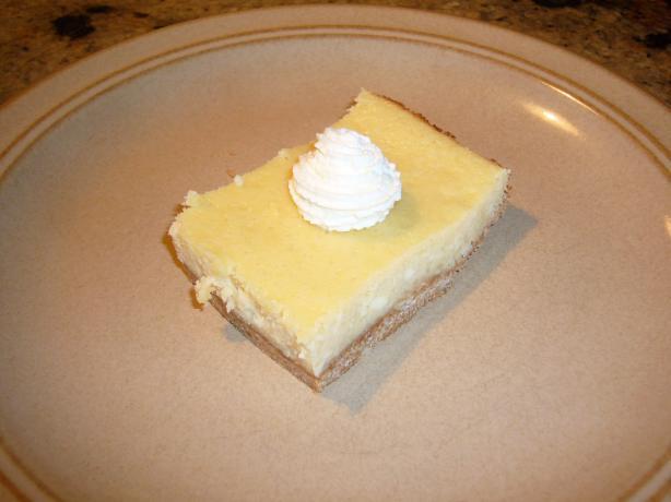 Laura's Incredible Key Lime Cheesecake Bars