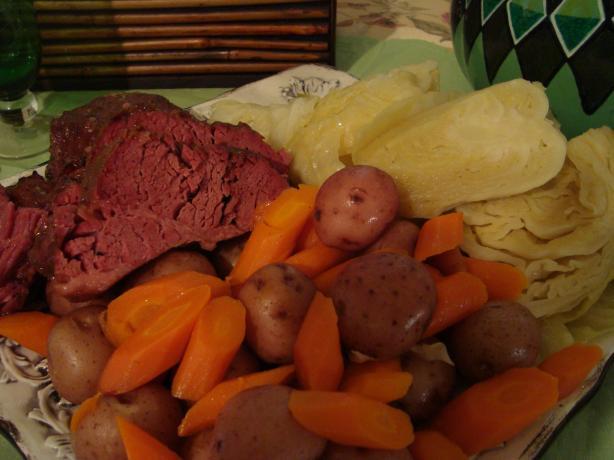 Crock Pot Corned Beef Dinner