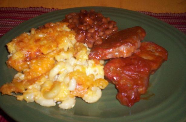 Southern Macaroni Pie II
