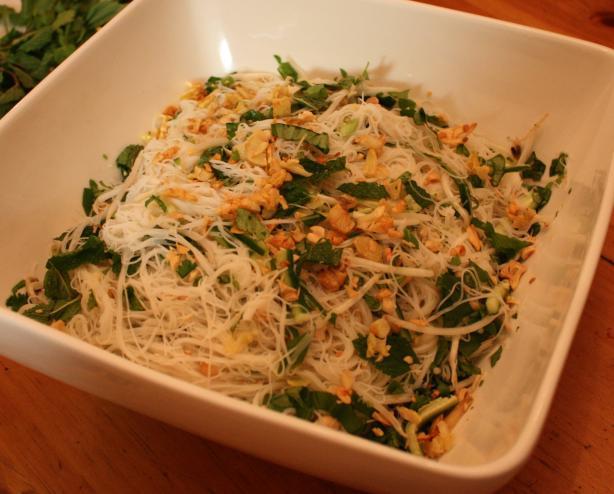 Bun (Vietnamese Herb Noodle Salad)