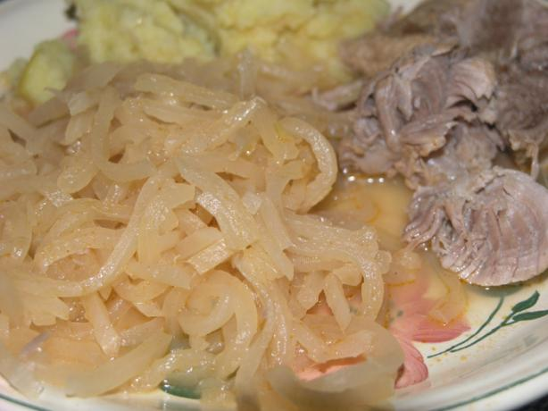 North Croatian Sour Turnip With Pork Meat