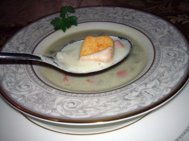 Isle of Wight Stilton Soup