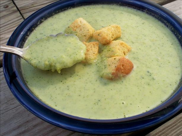 Curried Cream of Broccoli Soup
