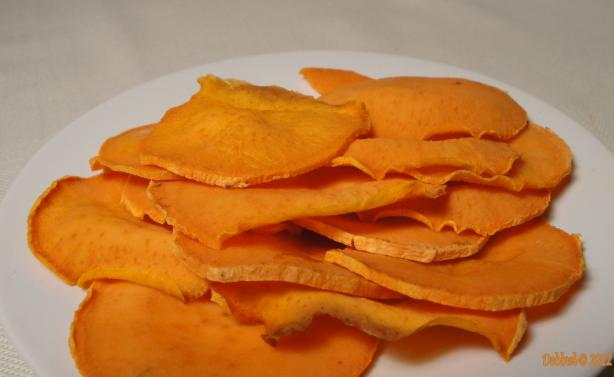The Realtor's Baked Sweet Potato Chips