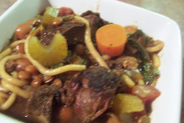 Harira - Moroccan Lamb Stew