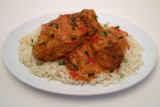 Chicken Paprikash (Popperkosh)