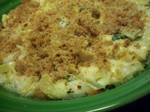Sarasota's Simple Creamy Cheesy Artichoke Casserole