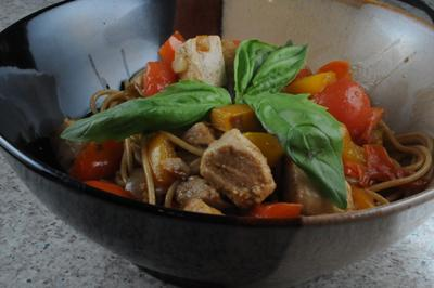 Tuna Pasta Pelagic Style (Bassas Da India)